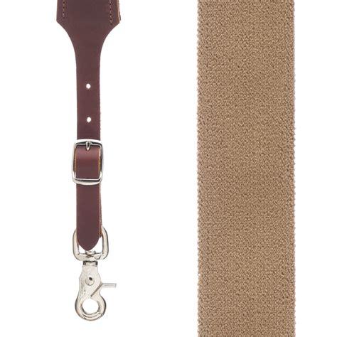 rugged suspenders desert rugged comfort suspenders trigger snap suspenderstore