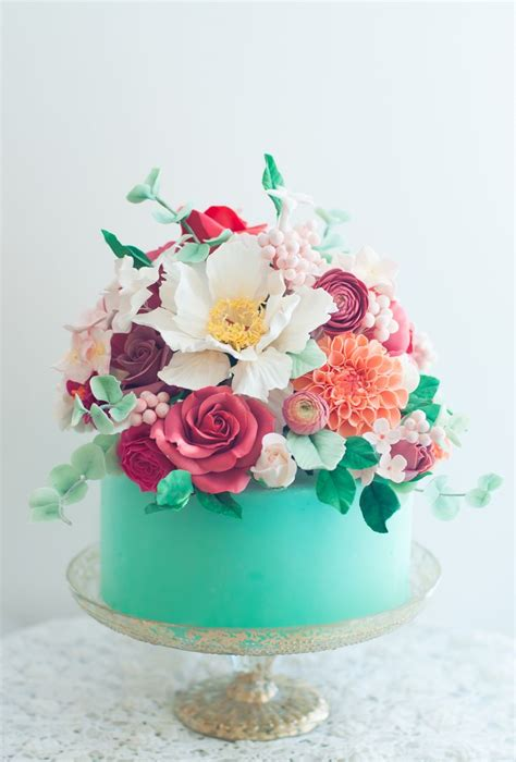 Cake Decorating Fondant Flowers by Best 25 Pretty Cakes Ideas On Birthday Cake