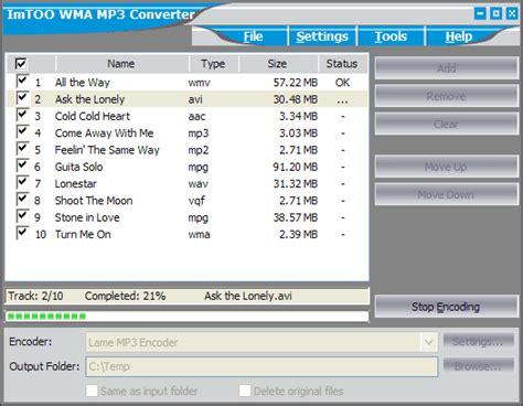 download mp3 converter for samsung galaxy y imtoo wma mp3 converter descargar rippers y conversi 243 n