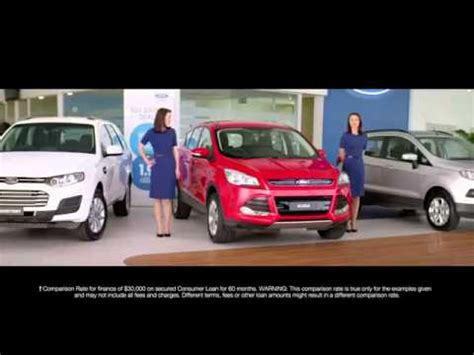 girl in ford focus commercial ford double deals ford kuga two of ngaire dawn fair