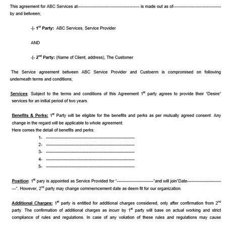 12 Free Sle Legally Binding Agreement Templates Printable Sles Legally Binding Contract Template