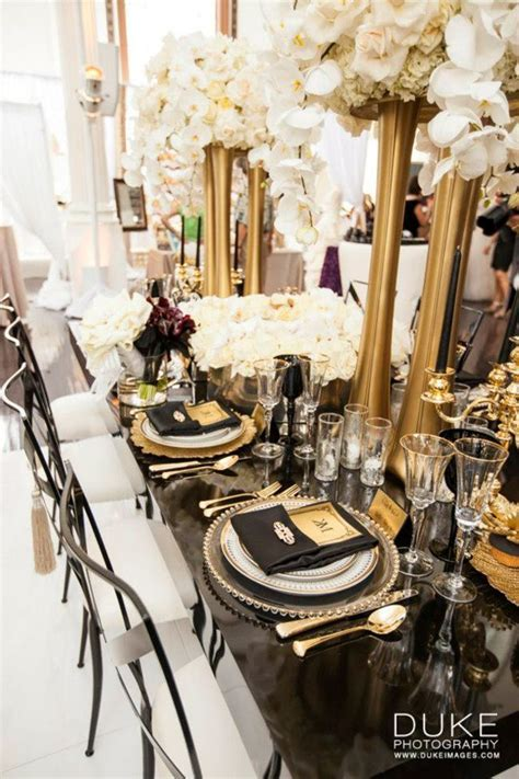 the great gatsby wedding inspiration   Bridal Style