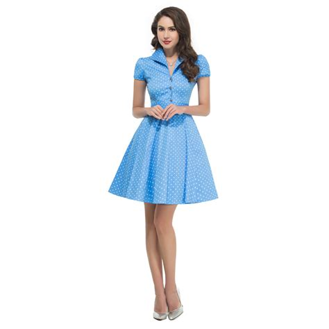 vintage 50s swing dresses cheap short sleeve retro vintage dress 50s vestido swing