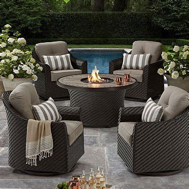 members mark agio heritage  piece outdoor fire pit chat