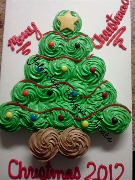 pull apart christmas tree cake no not the christmas