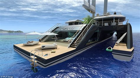boat car meaning komorebi hybrid superyacht comes with a swimming pool and