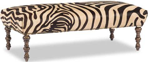 zebra pattern ottoman zebra print rectangular ottoman