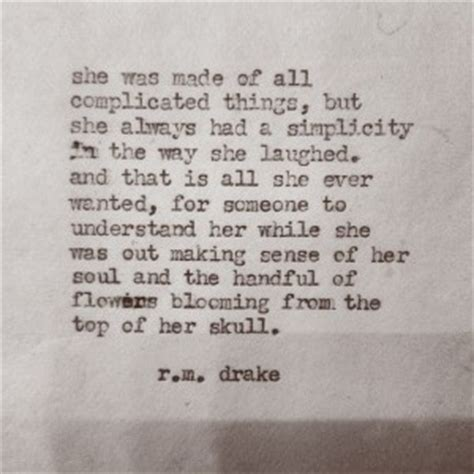 she was the stuff of poetry for the broken soul books she was fierce rm quotes quotesgram