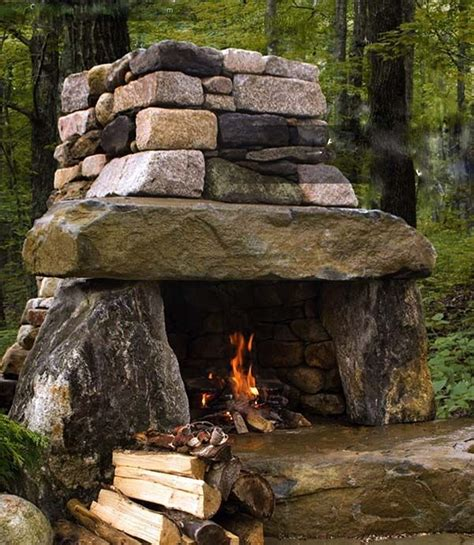 outdoor stone fireplace 25 best ideas about outdoor fireplaces on pinterest outdoor fireplace patio backyard