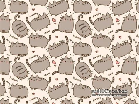 wallpaper pusheen cat pusheen the cat wallpapers wallpapersafari