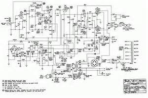 princeton reverb ii schematic or circuit diagram