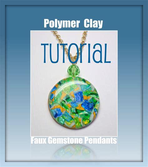 polymer clay tutorial beadazzle me polymer jewelry polymer clay faux gemstone