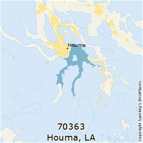 zip code map houma la best places to live in houma zip 70363 louisiana