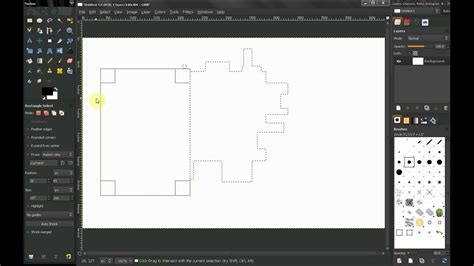gimp tutorial lasso tool gimp tutorial beginners guide ep22 tools rectangle