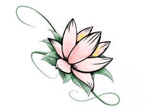 Small Lotus Flower Lotus Drawing How To Draw Lotus Flower Home Coloring