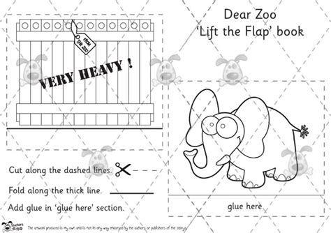 printable zoo animal book 5 best images of dear zoo printables dear zoo activities