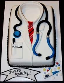Doctors Cake Ideas Doctor Birthday Cake White Coat Ceremonies