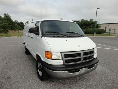 airbag deployment 2003 dodge ram van 3500 electronic throttle control find used 2003 dodge ram 3500 cargo van cng natural gas ngv hov solo only 49k miles in bellport