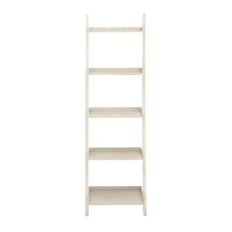 Open Bookshelf White White Open Bookcase 96198 The Home Depot
