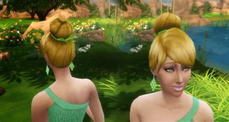 tinkerbell hairstyle tinkerbell hair at my stuff 187 sims 4 updates