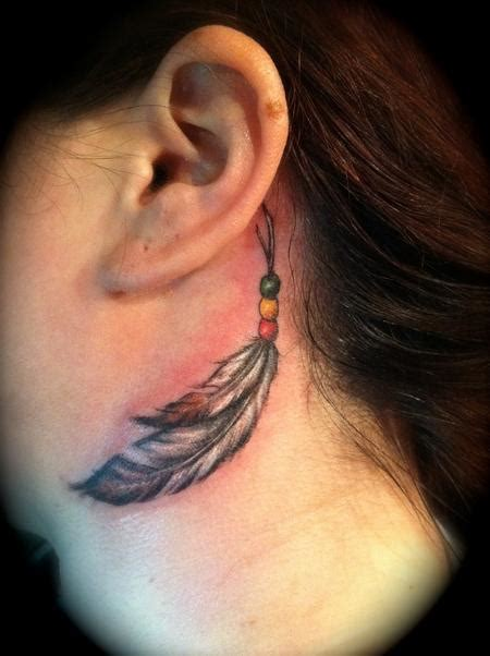 feather tattoo neck meaning feathers neck by jessica brennan tattoos