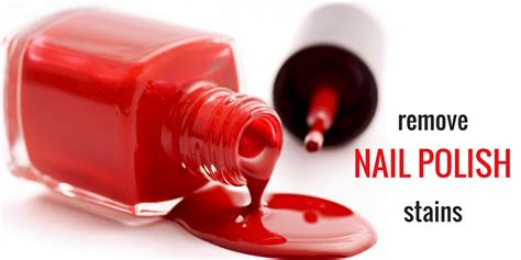 remove nail polish from upholstery how to remove ugly nail polish stains easily lifestyle