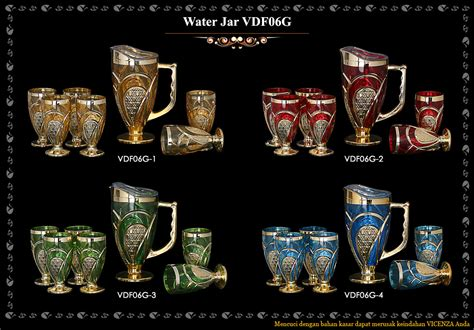 Vicenza Glass Jar water jar vdf06g dapur cantik