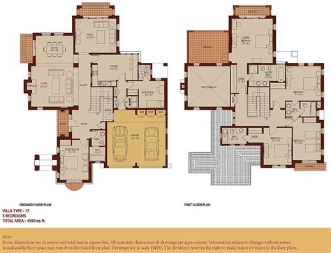 arabic house designs and floor plans arabian ranches communities