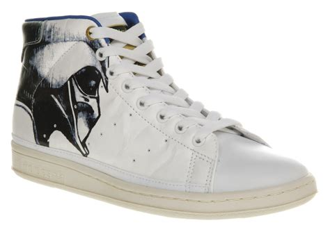 adidas wars sneakers mens adidas originals x wars stan smith 80s mid darth