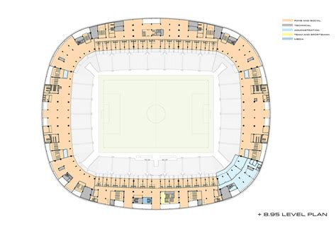 stadium floor plans gallery of konya city stadium bahadır kul architects 24
