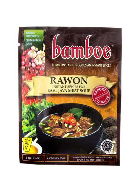 Bumbu Rawon 3 Pack bamboe bumbu instant rawon new pck 54g klikindomaret