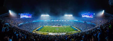 bank of america stadium carolina panthers bank of america stadium renovations resume football