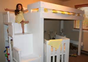 toddler bunk beds with stairs diy bunk beds myabcsoup