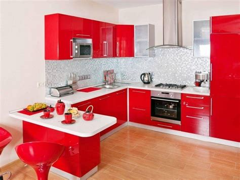 red kitchen white cabinets kitchens with red walls and white cabinets smith design