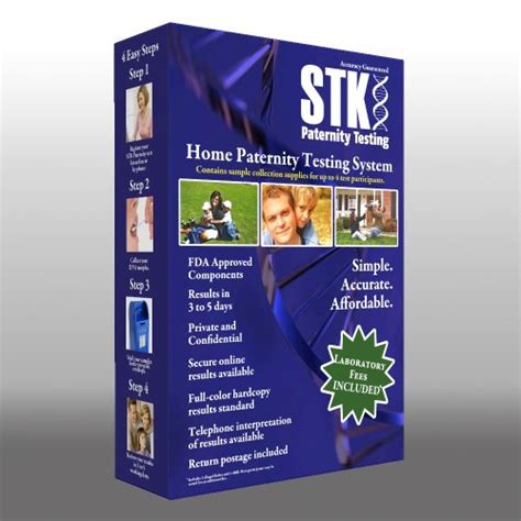 stk paternity test kit includes all lab fees desertcart