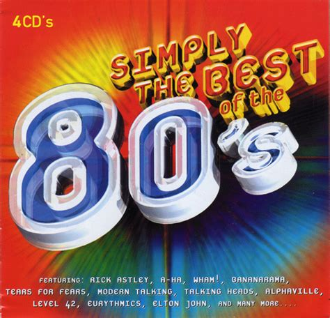 best of simply various simply the best of the 80 s cd at discogs