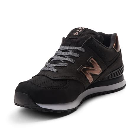 New Balance2 womens new balance 574 athletic shoe black 401550