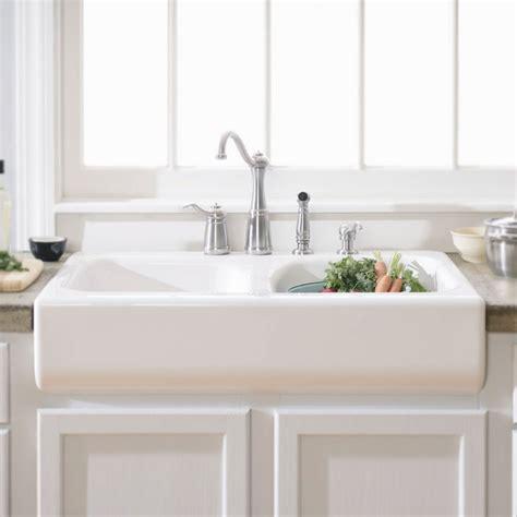 white porcelain farm decor elegant design of top mount farmhouse for