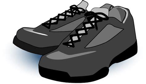 black tennis shoes clip at clker vector clip