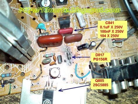 tv lg quema transistor salida horizontal kv 21fs140 quema transistor de salida horizontal laboratorio electr 243 nico fallas