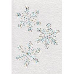 card stitch templates three snowflakes in e patterns at stitching