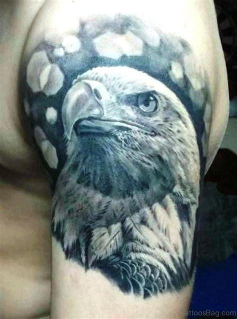 black and grey eagle tattoo 72 stunning eagle tattoos on shoulder