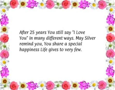 you say it a small town wedding happily inc 25th wedding anniversary quotes happy quotesgram