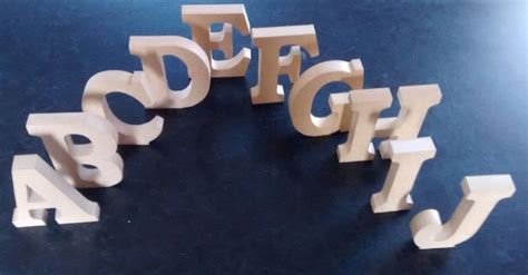 decorative letters for home free standing free standing wooden letters home decor name large mdf