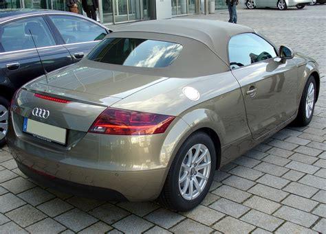 Audi Tt Wikipedia by Datoteka Audi Tt Roadster Heck Jpg Wikipedija