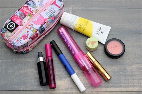 Tips From A Regular Makeup Bag by Travel Makeup Bag Essentials And Tips