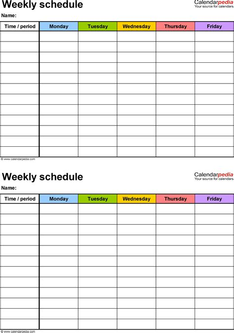 make a printable schedule online printable daily hourly schedule