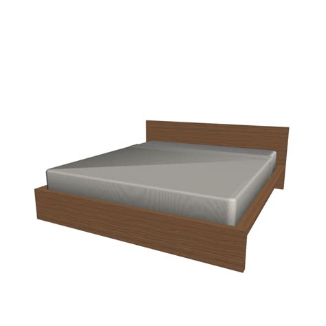 ikea bed malm bed frame 180x200cm design and decorate your room in 3d