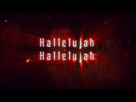 hallelujah karaoke full version hallelujah what a savior video worship song track with