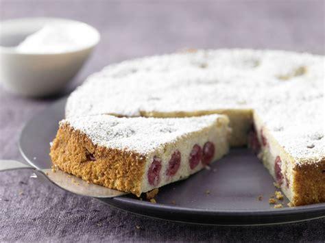 kuchen mit ricotta ricotta quark kuchen mit kirschen rezept eat smarter
